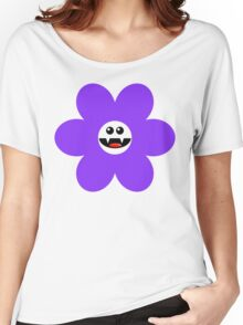 SAVAGE FLOWER PURPLE Women's Relaxed Fit T-Shirt