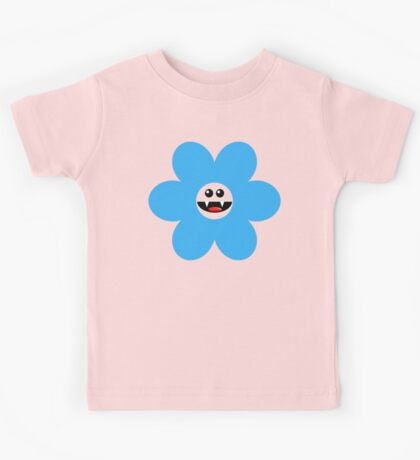 SAVAGE FLOWER BLUE Kids Tee