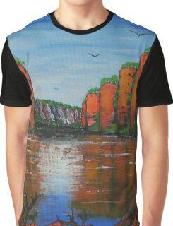 Katherine Gorge Graphic T-Shirt