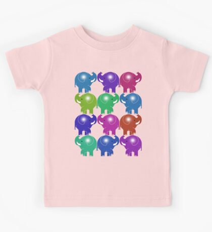 ELEPHANTS 3 Kids Tee