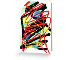 Scribbles 0006 Greeting Card
