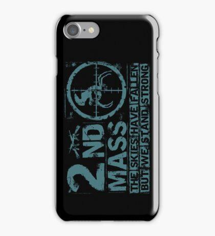 2nd Mass iPhone Case/Skin