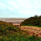 Secluded Beach Access Prince Edward Island by Nadine Staaf