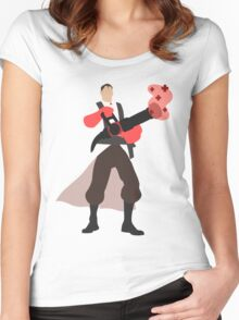 TF2 RED Medic Women's Fitted Scoop T-Shirt