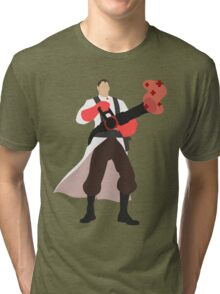 TF2 RED Medic Tri-blend T-Shirt