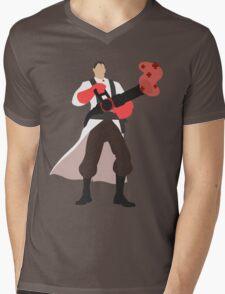 TF2 RED Medic Mens V-Neck T-Shirt