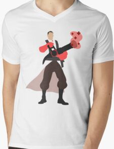 TF2 RED Medic Mens V-Neck T-Shirt