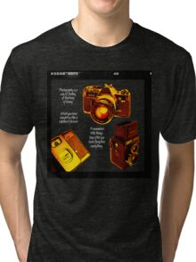 Analogue photography Tri-blend T-Shirt