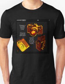 Analogue photography Unisex T-Shirt