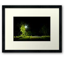 "The ""Night of the Dead"", in the dead of the night. Framed Print"