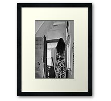 I reach and I have succeeded! Framed Print