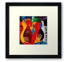 Feeling Music Framed Print