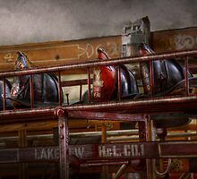 Fireman - Ladder Company 28 by Mike  Savad