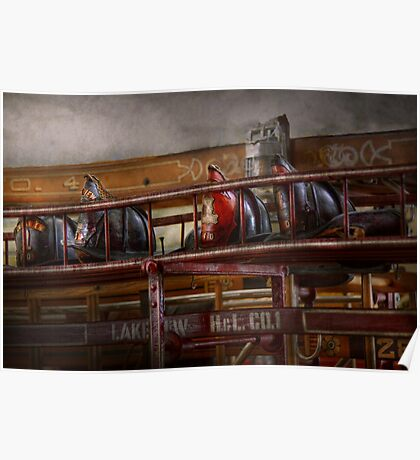 Fireman - Ladder Company 28 Poster