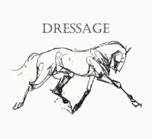 Dressage Horse by doodledesign