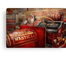 Fireman - Mastic chemical co Canvas Print