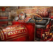 Fireman - Mastic chemical co Photographic Print