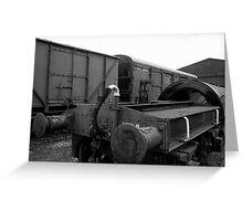 Trains at Howarth Greeting Card
