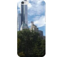 The One57 Skyscraper Dominates the Central Park South Skyline  iPhone Case/Skin