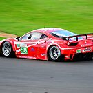 Ferrari F458 Italia No 58 by Willie Jackson