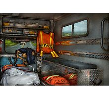 Rescue - Emergency Squad  Photographic Print