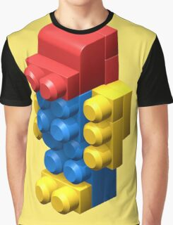3D Robot Graphic T-Shirt