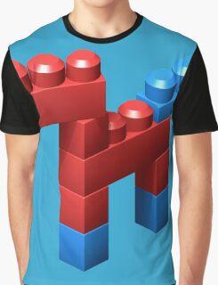 3D Little Horse Graphic T-Shirt