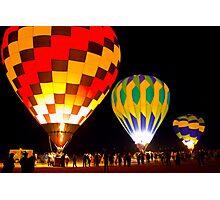 Mesilla Valley Balloon Rally Photographic Print