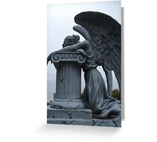 Lonely Angel Greeting Card