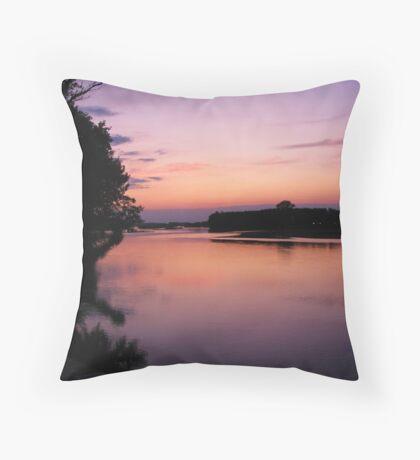 Meriç river-TURKEY Throw Pillow