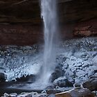 Catskills waterfalls upstate NY in winter time 1 by Anton Oparin