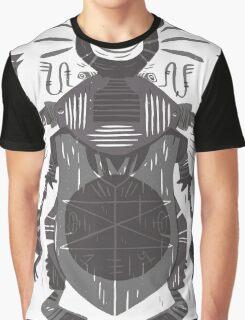 Eye of the Gods - Beetle Three - grey Graphic T-Shirt