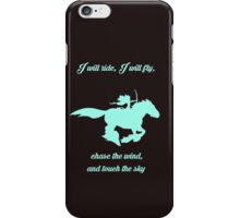 Chase the Wind iPhone Case/Skin