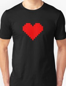 Pixel Heart- Red T-Shirt
