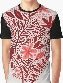 Red Garden Graphic T-Shirt