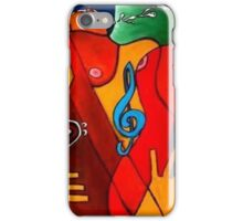 Feeling Music iPhone Case/Skin