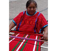 Streetworker - Trabajando En La Calle Photographic Print