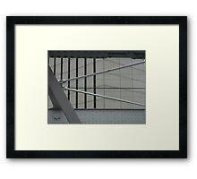 Trestle Through Framed Print