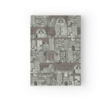 dystopian toile drab Hardcover Journal