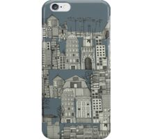 dystopian toile slate iPhone Case/Skin