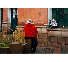 People 4243  Sucre, Bolivia Photographic Print