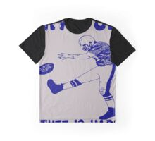 Funny Football: Give Up Graphic T-Shirt