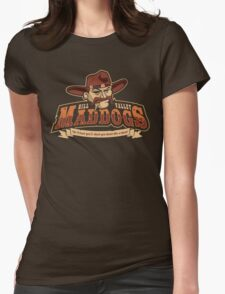 Hill Valley Maddogs Womens Fitted T-Shirt