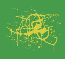 Splat Splat Splat - Yellow by Rosalila