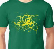 Splat Splat Splat - Yellow Unisex T-Shirt