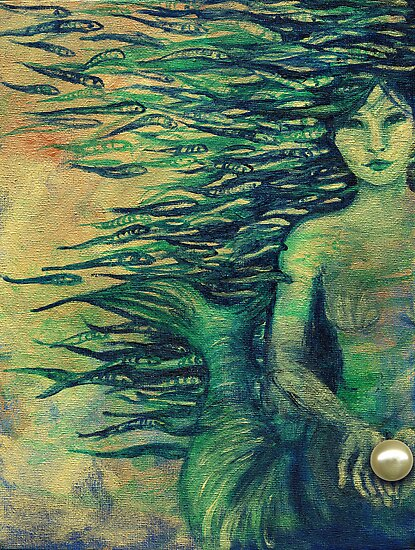 Mermaid by Genevieve  Cseh