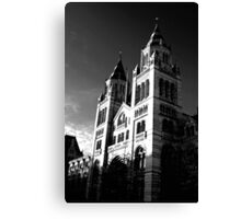 National History Museum  Canvas Print