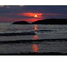 Another Awesome Lake Superior Sunset Photographic Print