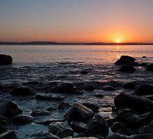 Dixons Beach Sunrise, Taroona,Tasmania #9 by Chris Cobern