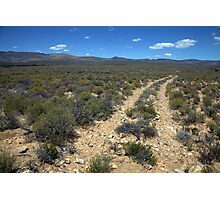 Karoo landscape - Road to Nowhere Photographic Print